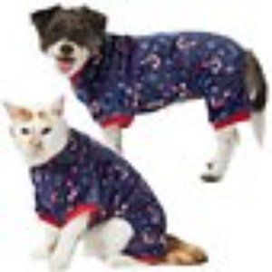Frisco Snowy Nights Dog & Cat Cozy Fleece PJs